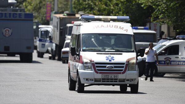 Захват здания полиции в Ереване - Sputnik Абхазия