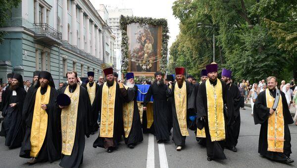Всеукраинский крестный ход мира, любви и молитвы за Украину - Sputnik Абхазия