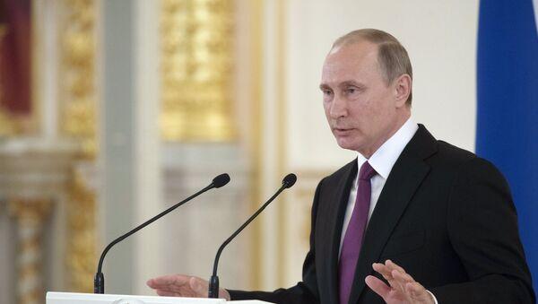 Президент РФ В. Путин. - Sputnik Абхазия