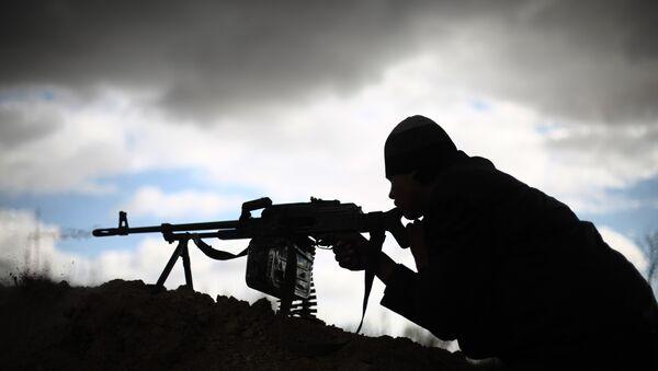 Архивное фото бойца ИГ - Sputnik Абхазия