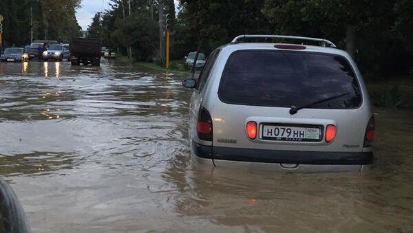 Последствия стихии в Сухуме - Sputnik Абхазия