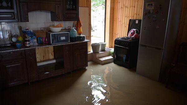 Грязь во дворах и вода в спальнях. Последствия паводка в селе Гумиста - Sputnik Абхазия