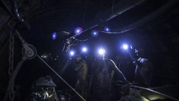 Угольная шахта. Архивное фото - Sputnik Абхазия