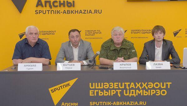 Видеомост со Sputnik Южная Осетия  Август 8 - Sputnik Абхазия