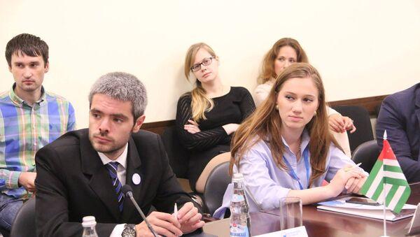 Заместитель председателя Совета Инар Ладария. - Sputnik Абхазия