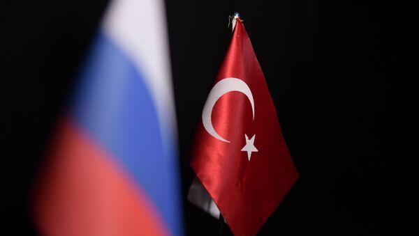 Флаги России и Турции - Sputnik Аҧсны