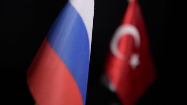 Флаги России и Турции - Sputnik Абхазия