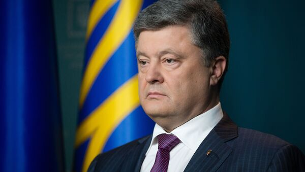 Президент Украины Петр Порошенко - Sputnik Абхазия