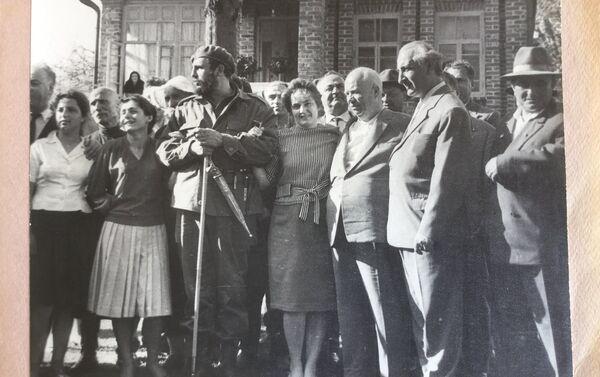 Фидель Кастро и Никита Хрущев в Дурипше - Sputnik Абхазия