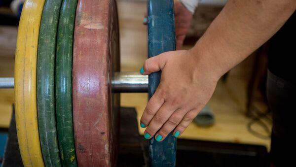 Российская тяжелоатлетка Татьяна Каширина. Архивное фото - Sputnik Абхазия