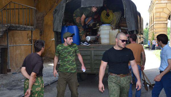 Старт пятого военно-полевого патриотического лагеря (ВППЛ) Молодая Абхазия. - Sputnik Абхазия
