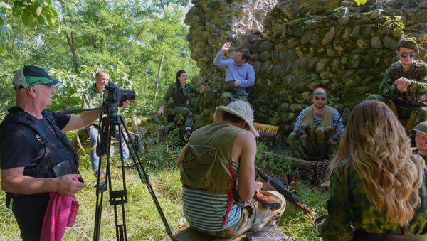 Съемка третьй часть проекта Хара харуаа реихабы - Sputnik Абхазия