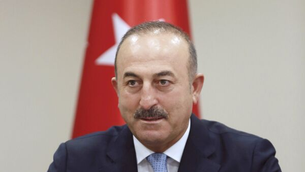 Министр иностранных дел Турции Мевлют Чавушоглу. Архивное фото. - Sputnik Абхазия