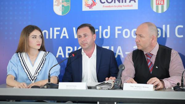 Около 120 журналистов будут освещать ЧМ Conifa в Абхазии - Sputnik Абхазия