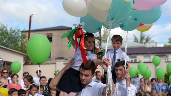 1 сентября в 2-ой школе - Sputnik Абхазия