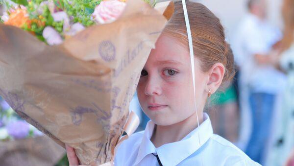 Первое сентября во 2-ой школе. - Sputnik Аҧсны