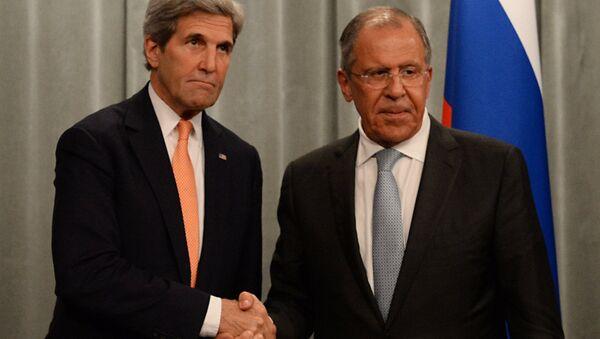 Встреча главы МИД РФ С. Лаврова с Госсекретарем США Дж.Керри - Sputnik Абхазия