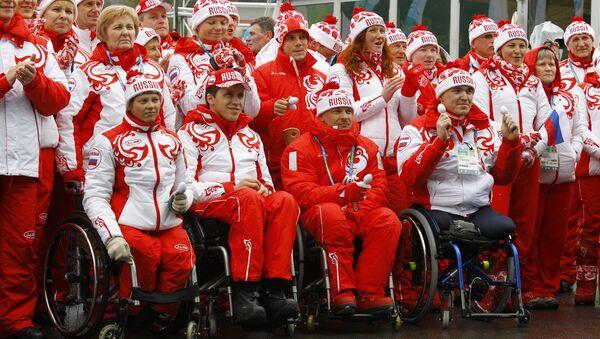 Российские паралимпийцы - Sputnik Абхазия