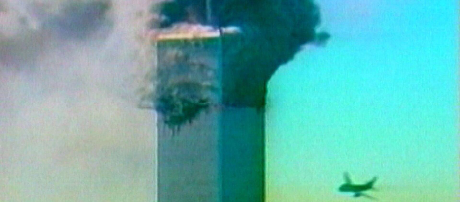 Террористический акт в Нью-Йорке 11 сентября 2001 года. Кадры из архива - Sputnik Абхазия, 1920, 11.09.2019