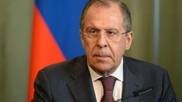 Министр иностранных дел России Сергей Лавров. - Sputnik Абхазия
