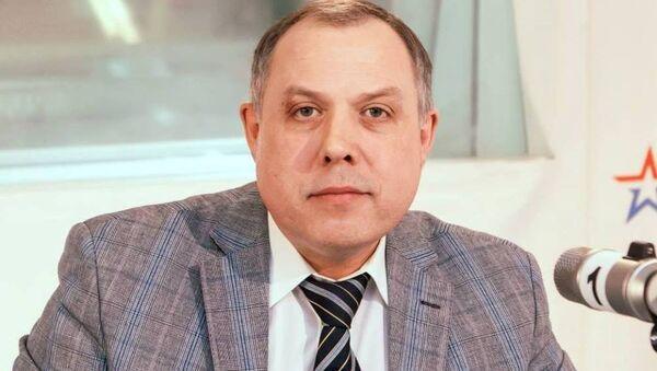 Директор Национального института развития современной идеологии Игорь Шатров. - Sputnik Абхазия