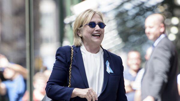 Кандидат в президенты США от демократической партии Хилари Клинтон - Sputnik Абхазия