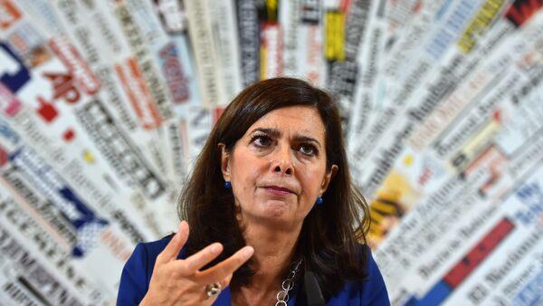 Глава палаты депутатов Италии Лаура Больдрини - Sputnik Абхазия