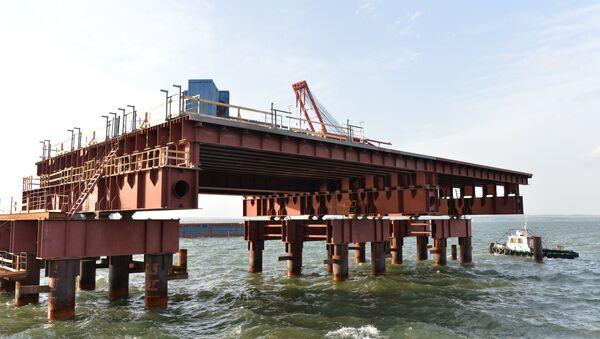 Строительство моста через Керченский пролив - Sputnik Абхазия