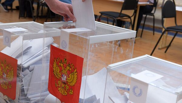 Урна для голосования на выборах в госдуму РФ. - Sputnik Абхазия