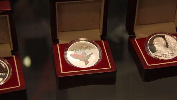 Монеты Нацбанка Абхазии были представлены на выставке монет COINS-2016 - Sputnik Абхазия