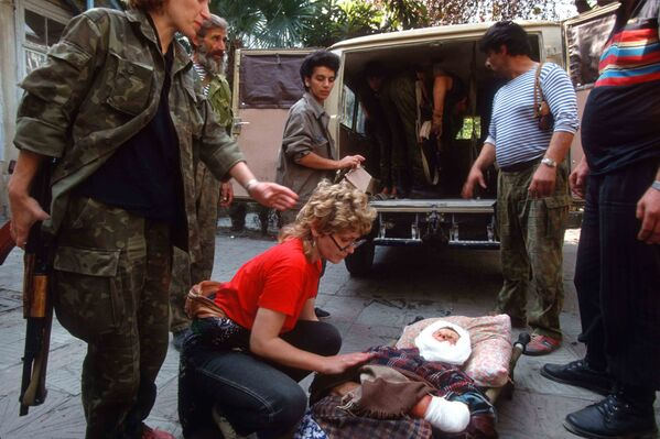 Война 1992-1993 гг - Sputnik Абхазия