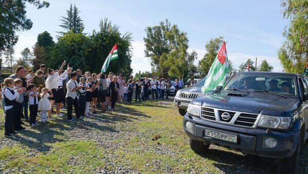 Автопробег Дорогой жизни - Sputnik Абхазия