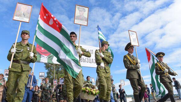 Бессмертный полк в честь Дня Победы - Sputnik Аҧсны