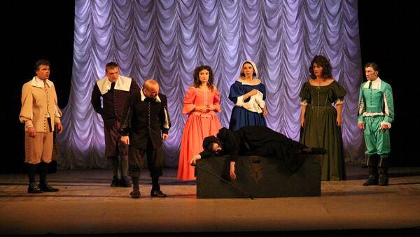 Актеры РУСДАМа на фесивале Театральный Олимп в Сочи - Sputnik Абхазия