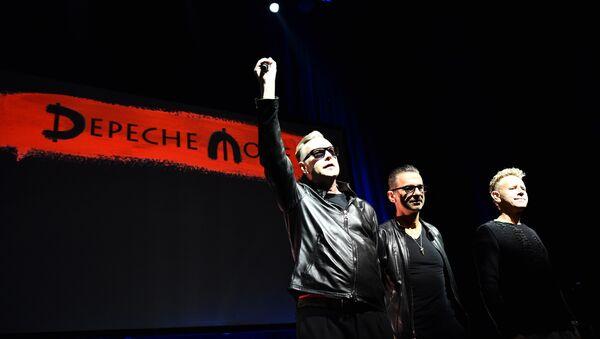Музыканты группы  Depeche Mode - Sputnik Абхазия