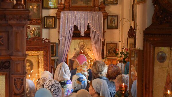Праздник Рождества Богородицы отметили православные христиане Абхазии - Sputnik Абхазия