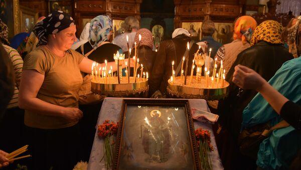 Храм Покрова Пресвятой Богородицы в Гудауте - Sputnik Абхазия