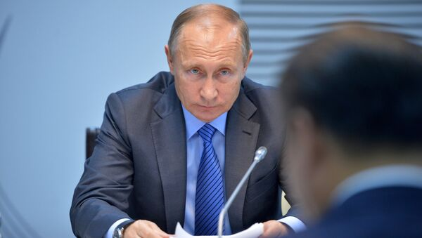 Визит президента РФ В. Путина в Республику Индию (Гоа) - Sputnik Абхазия