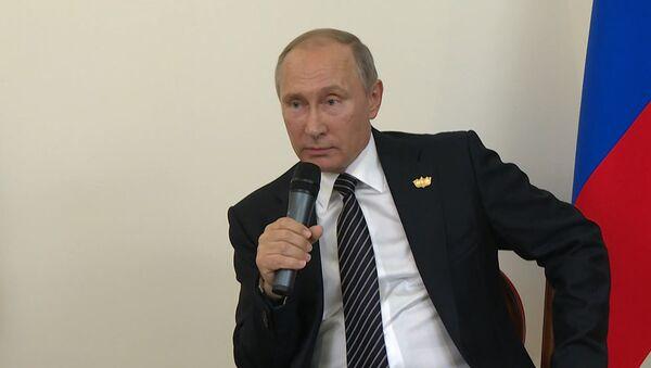 Путин прокомментировал заявления Байдена о мерах против РФ из-за кибератак - Sputnik Абхазия