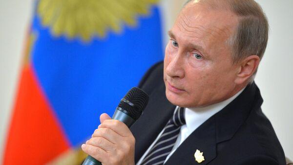 Визит президента РФ В. Путина в Республику Индию (Гоа). День второй - Sputnik Абхазия