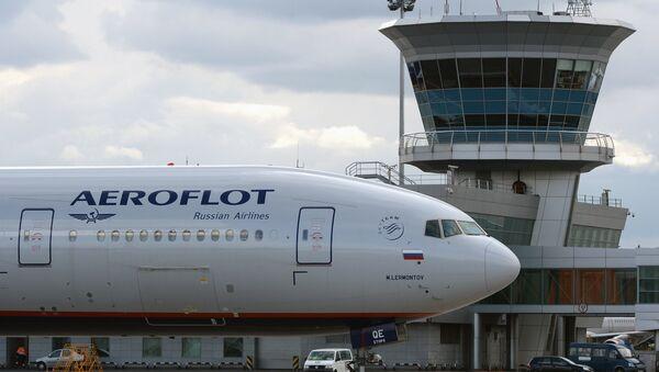 Архивное фото самолета авиакомпании Аэрофлот - Sputnik Аҧсны