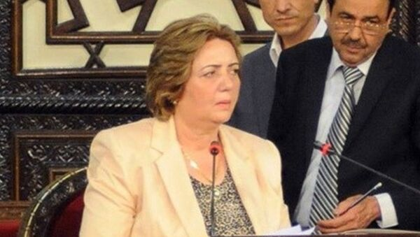 Архивное фото председателя парламента Сирии Хадии Аббас - Sputnik Абхазия