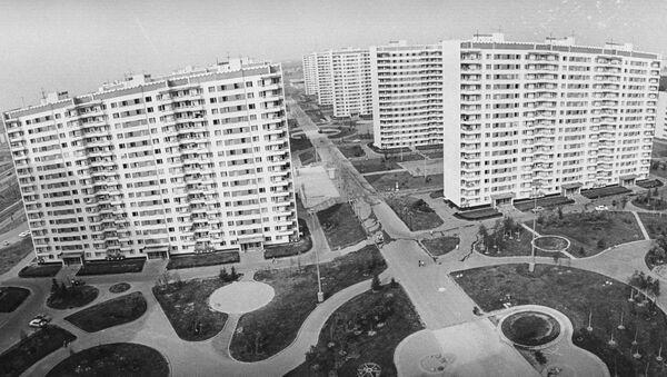 Архивное фото домостроения - Sputnik Абхазия