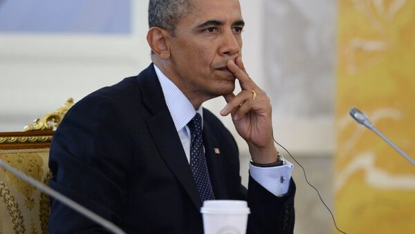 Архивное фото Барака Обама - Sputnik Абхазия