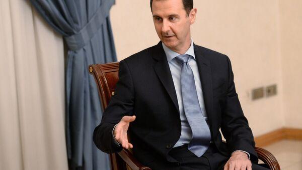 Архивное фото президента Сирии Башара Асада - Sputnik Абхазия