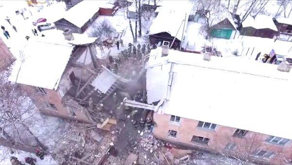 Взрыв газа в жилом доме в Иваново: разбор завалов и эвакуация пострадавших - Sputnik Абхазия
