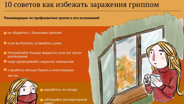 10 советов как избежать заражения гриппом - Sputnik Абхазия