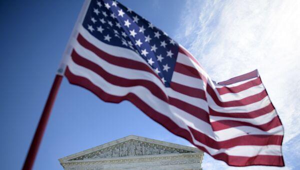 Вид здание Верховного суда США в Вашингтоне, округ Колумбия - Sputnik Аҧсны