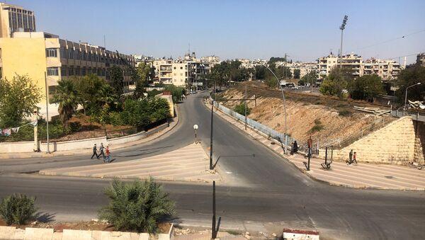 Архивное фото района гуманитарного коридора Алеппо в Сирии - Sputnik Абхазия