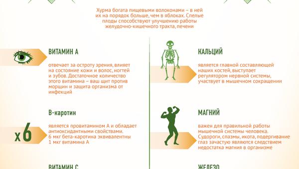 Хурма - сладкая пища богов - Sputnik Абхазия